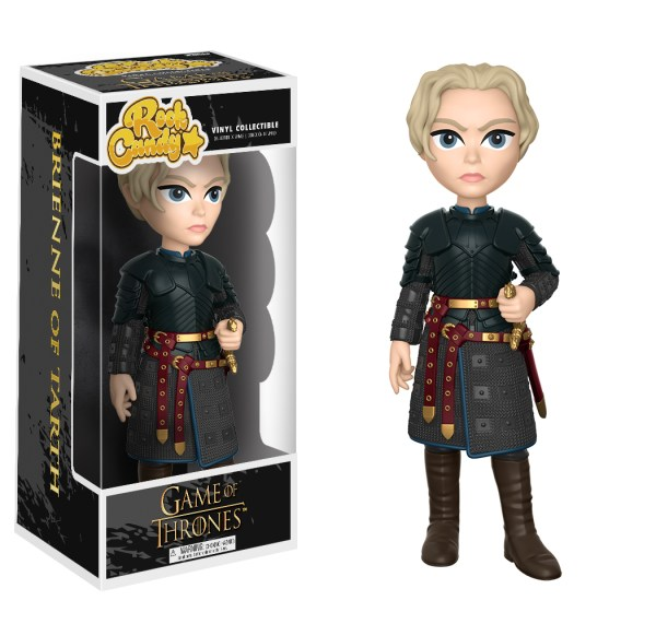 Game Of Thrones Brienne Of Tarth Rock Candy Figure (HBO)