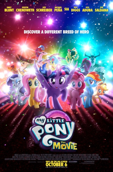 My Little Pony poster (Lionsgate)