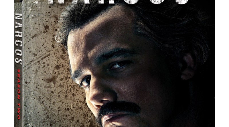 Narcos Season Two Blu-Ray/Digital HD cover (Lionsgate Home Entertainment/Netflix)