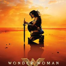 "Poster for the movie ""Wonder Woman"""