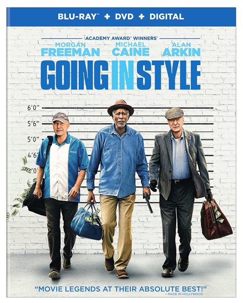 Going In Style Blu-Ray combo (Warner Bros. Home Entertainment)