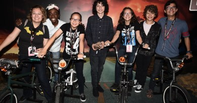 The Netflix Original Series 'Stranger Things' Surprise Appearance @ Netflix Experience at 2017 Comic-Con, San Diego, CA, USA - 21 July 2017
