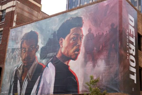 Detroit Outdoor Art In Detroit, Michigan