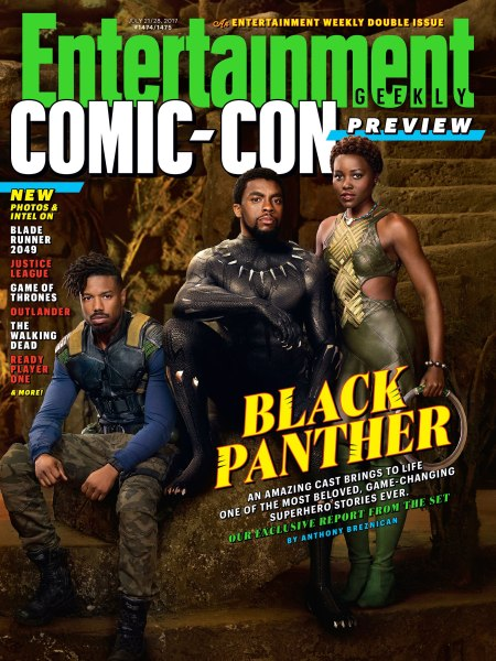 Entertainment Weekly's Comic-Con issue