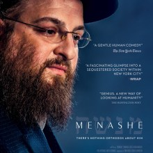 Menashe poster (A24 Films)