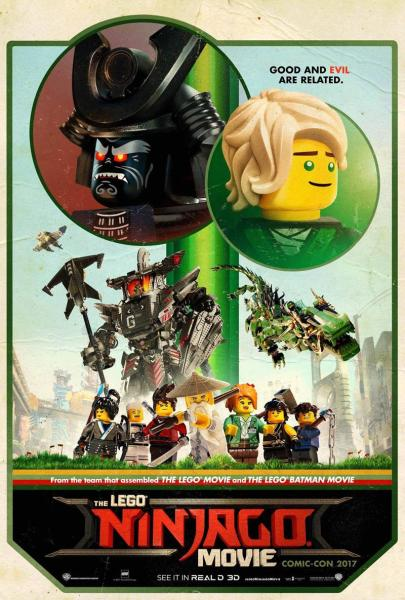 The LEGO Ninjago Movie poster (Warner Bros. Pictures)