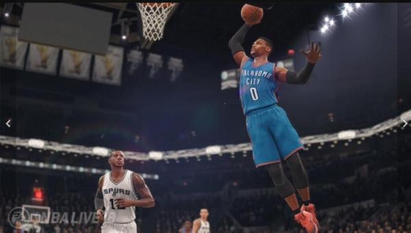 Russell Westbrook from NBA Live '18 (EA Sports)