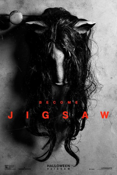 "Poster for the movie ""Jigsaw"""