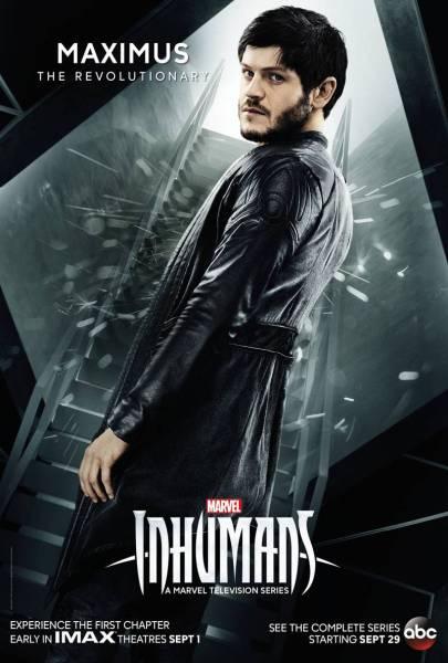 Marvel's Inhumans Maximus poster (Marvel Studios/ABC)