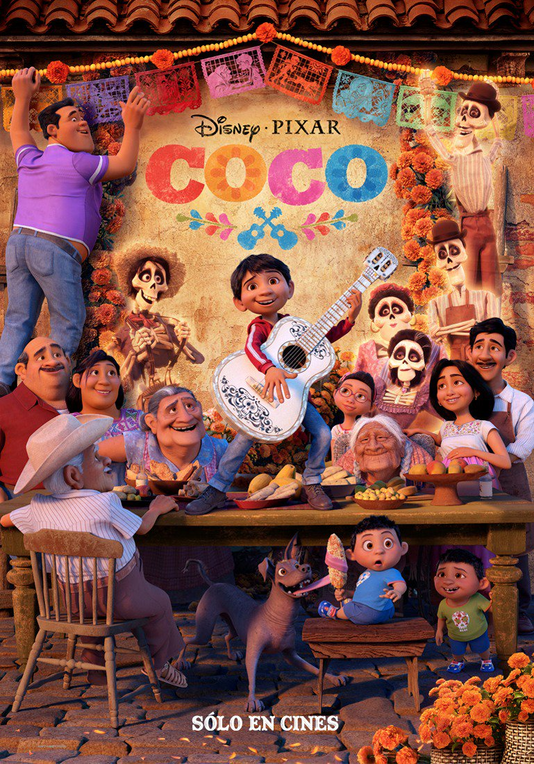 Coco's Director Tweets Out New Spanish Poster