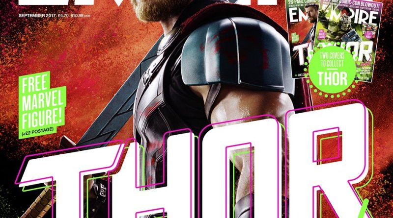 Empire Magazine Thor: Ragnarok Thor cover