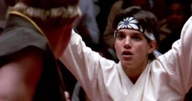 Ralph Macchio as The Karate Kid