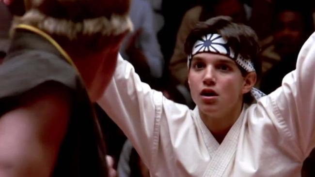 Ralph Macchio as The Karate Kid