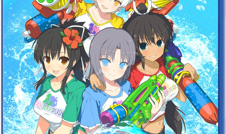 SENRAN KAGURA Peach Beach Splash still
