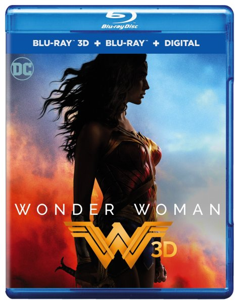 Wonder Woman 3D Blu-Ray/Blu-Ray/Digital HD (Warner Bros. Home Entertainment)