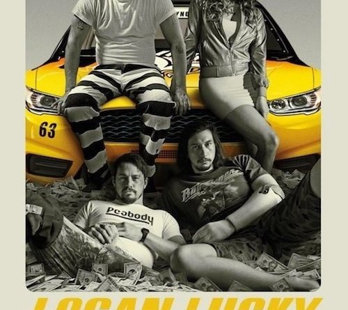 "Poster for the movie ""Logan Lucky"""