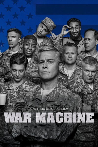 "Poster for the movie ""War Machine"""