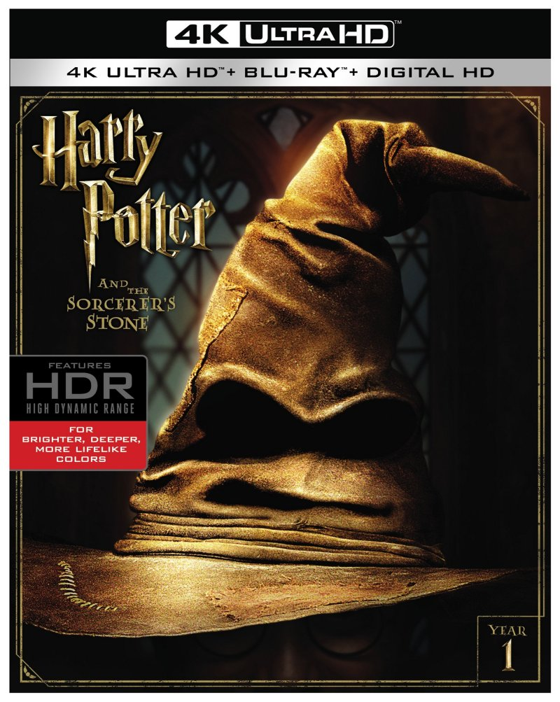 Harry Potter And The Sorcerer's Stone 4K Ultra HD/Blu-Ray/Digital HD (Warner Bros. Pictures)