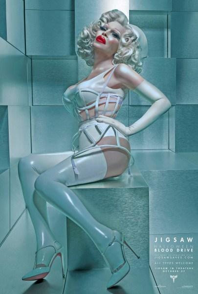 Nurse Amanda Jigsaw Character Poster (Lionsgate)