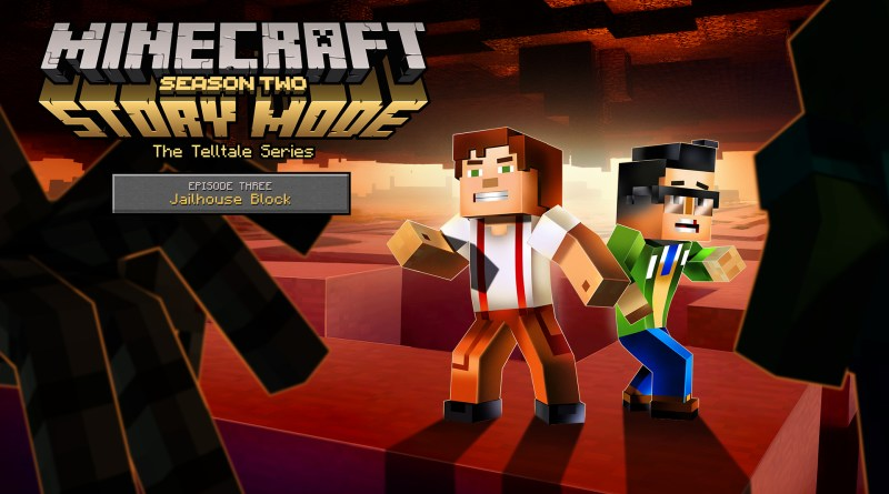 Minecraft: Story Mode Season Two art