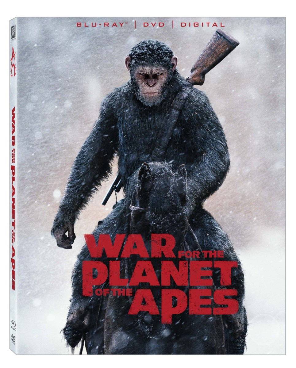 REVIEW: War For The Planet Of The Apes 4K
