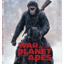 War For The Planet Of The Apes Blu-Ray/DVD/Digital HD cover (20th Century Fox Home Entertainment)