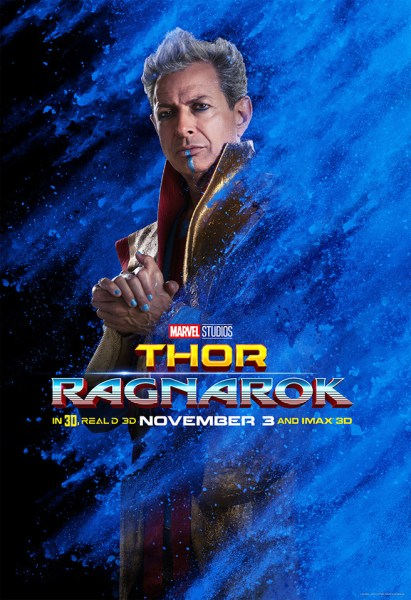 Jeff Goldblum as Grandmaster (Marvel Studios)
