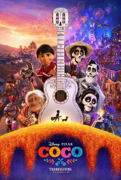 Disney/Pixar's Coco poster