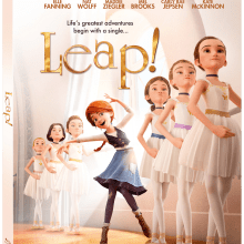 LEAP! Blu-Ray/Digital HD (Lionsgate Home Entertainment)