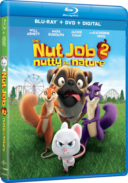 The Nut Job 2: Nutty By Nature Blu-Ray/DVD/Digital HD (Universal Pictures Home Entertainment)