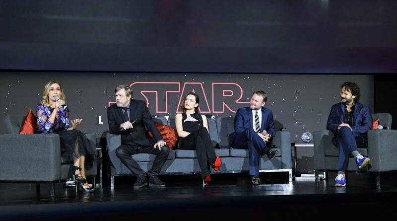 Star Wars: The Last Jedi Black Carpet Fan Affair Mexico City