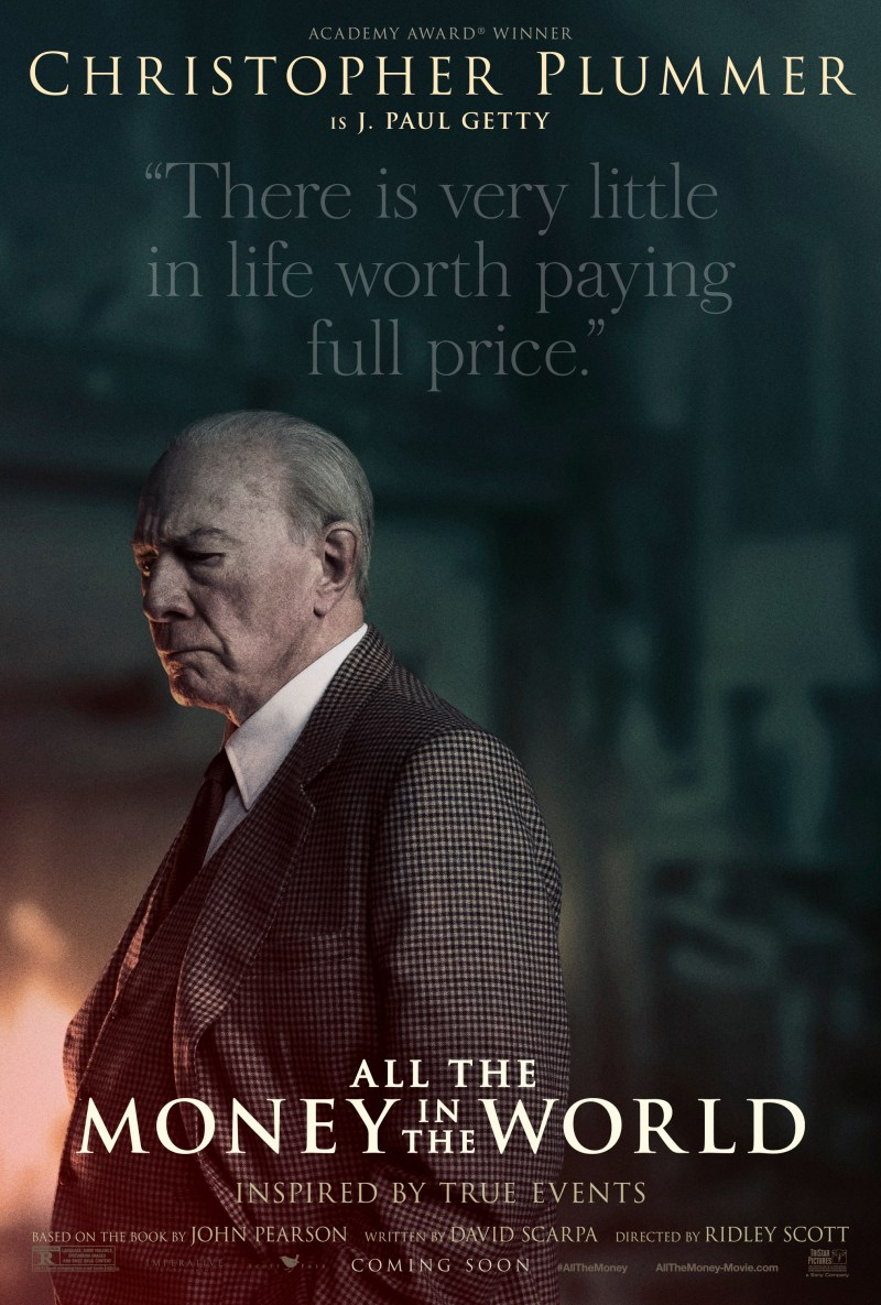 All The Money in The World character poster (Sony Pictures)