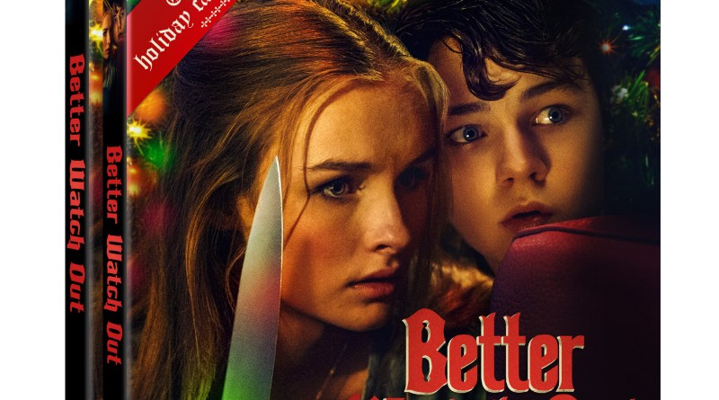 Better Watch Out Blu-Ray & DVD cover (Well Go USA Entertainment)