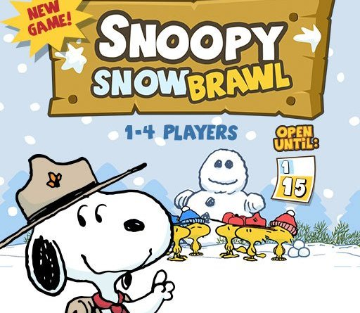 Snoopy's Snow Brawl (codeSpark)