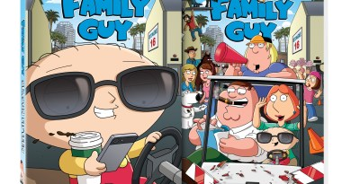Family Guy Season 15 cover (20th Century Fox Home Entertainment)