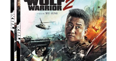 Wolf Warrior 2 Blu-Ray and DVD (Well Go USA Entertainment)