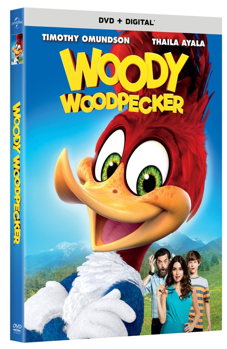 Woody Woodpecker Home Release Info