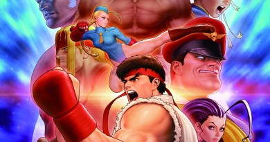 Street Fighter 30th Anniversary Collection Art (Capcom)