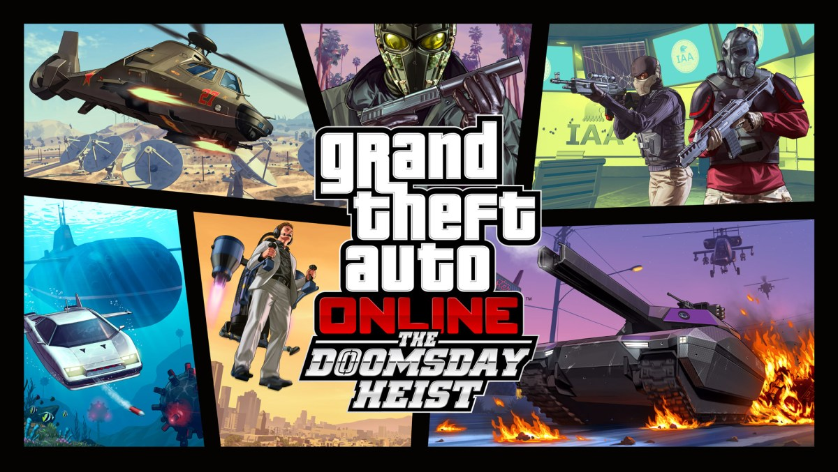 GTA Online: The Doomsday Heist AVAILABLE NOW!