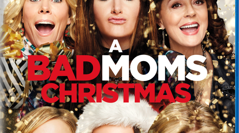 A Bad Moms Christmas Blu-Ray combo cover (Universal Pictures Home Entertainment)