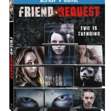 Friend Request Blu-Ray Combo cover (Lionsgate Home Entertainment)