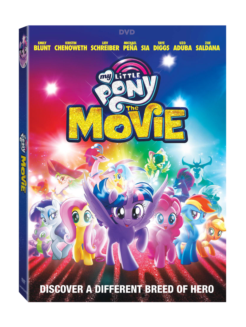 My Little Pony: The Movie DVD Cover (Lionsgate Home Entertainment)