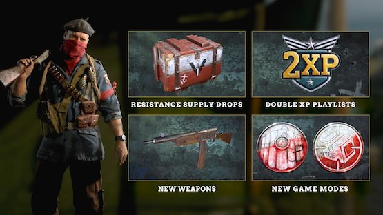 Call Of Duty: WWII The Resistance Event (Activision/Sledgehammer Games)