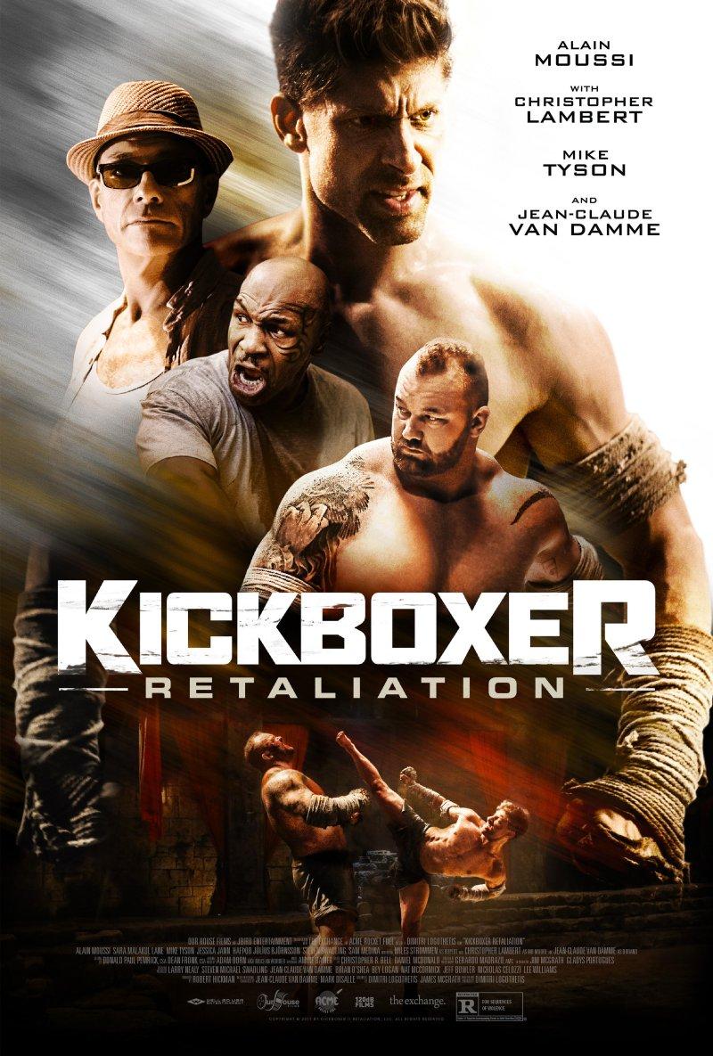 Kickboxer: Retaliation poster (Well Go USA)