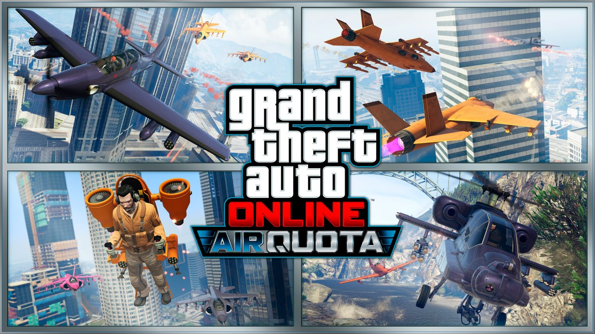 GTA Online: New Vehicle and Air Quota Mode Out Now!
