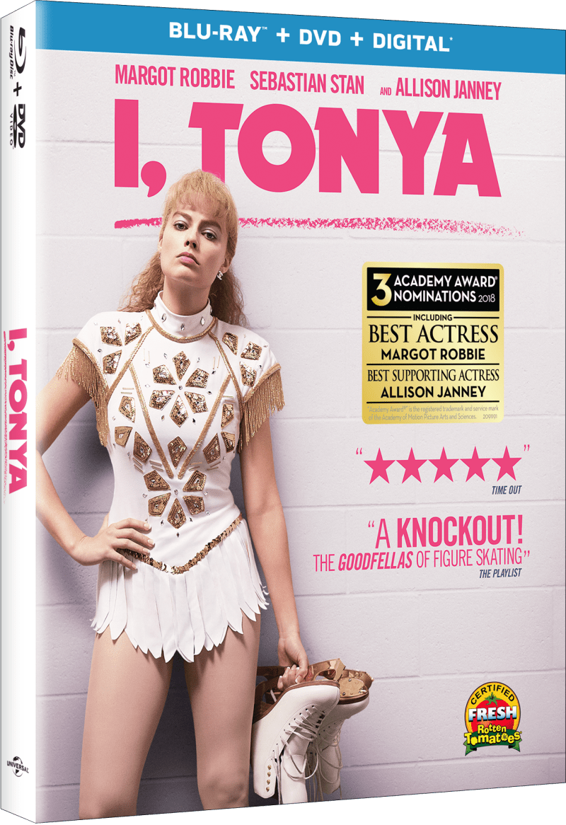 I, Tonya Blu-Ray cover (Universal Pictures Home Entertainment)