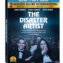 The Disaster Artist Blu-Ray Combo cover (Lionsgate Home Entertainment)