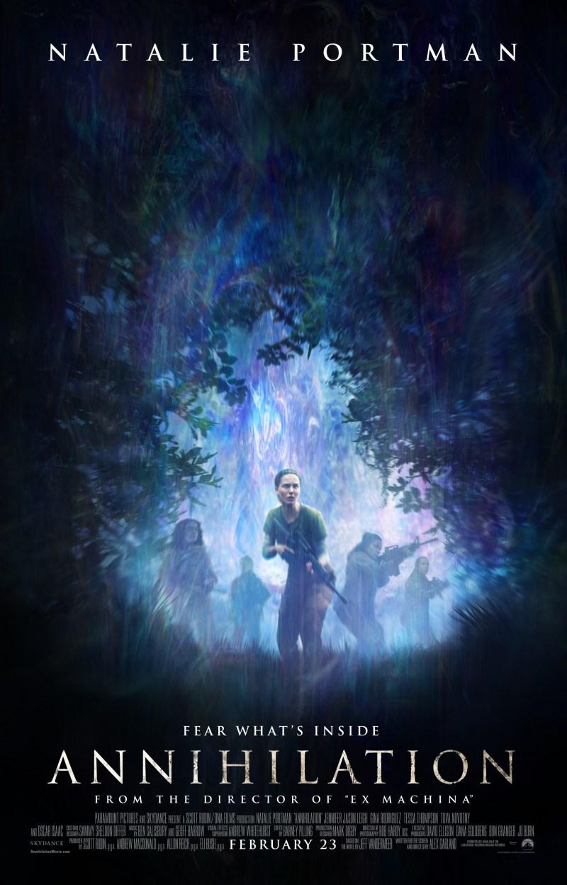 Annihilation poster (Paramount Pictures)