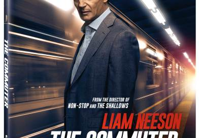 The Commuter 4K Ultra HD Combo cover (Lionsgate Home Entertainment)