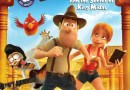 Tad The Lost Explorer And The Secret Of King Midas DVD Cover (Paramount Home Media)